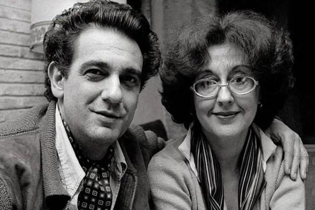 Пласидо Доминго и Марта Орнелас