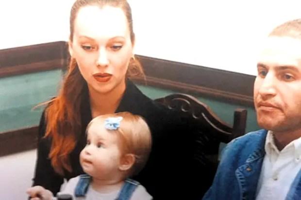 Леонид Агутин и Мария Воробьева с дочерью Полиной