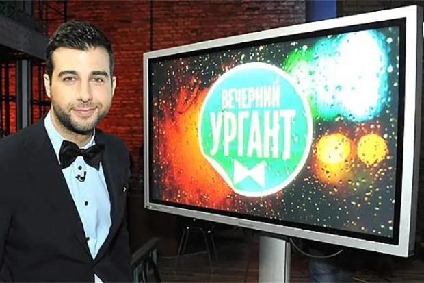 Иван Ургант в шоу «Вечерний Ургант»