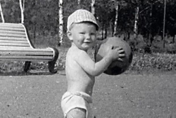 Лев Лещенко в детстве