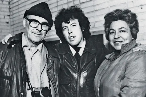 Андрей Макаревич с родителями
