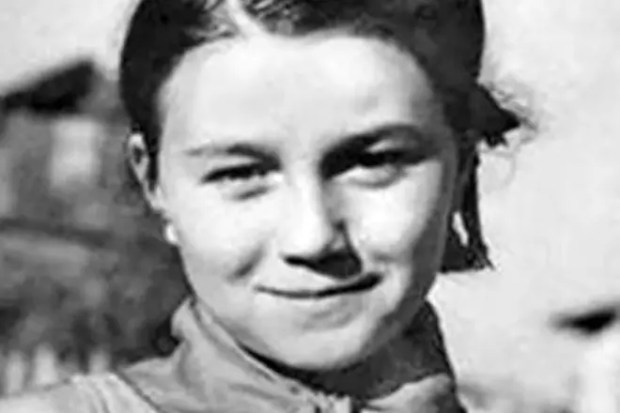 Тамара Синявская в детстве