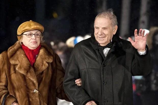 Петр Тодоровский с женой Мирой