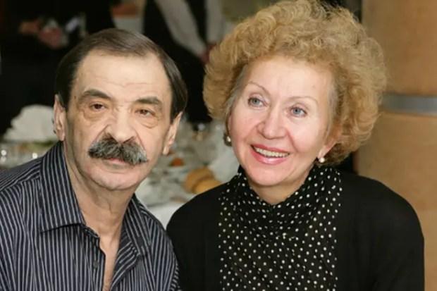 Илья Олейников и его жена Ирина