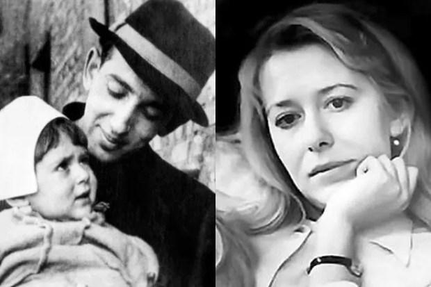 Александр Галич и его дочь Александра