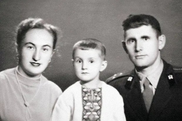 Леонид Ярмольник в детстве
