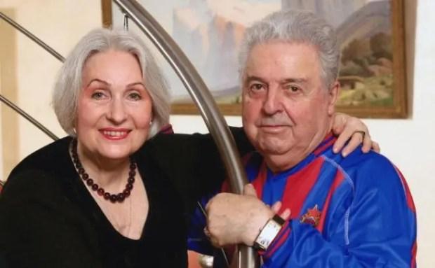 Лидия Козлова и Михаил Танич