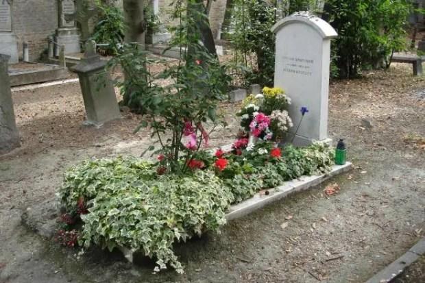 Могила Иосифа Бродского