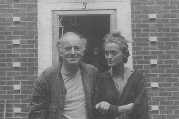 Иосиф Бродский и Мария Соццани
