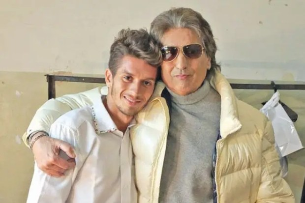 Тото Кутуньо с сыном
