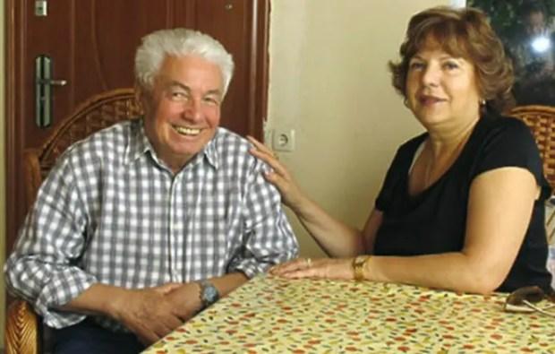 Владимир Войнович с третьей супругой Светланой