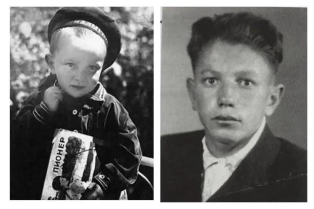 Владимир Войнович в детстве и юности