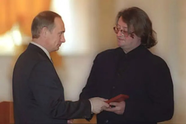 Владимир Путин и Александр Градский