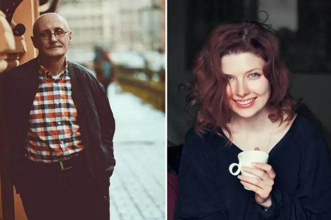 Семен Спивак и его дочь Эмилия