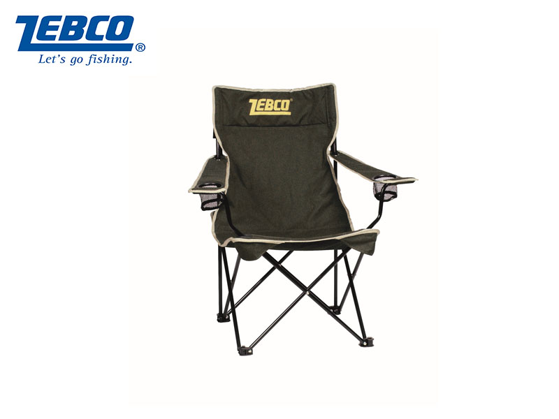 zebco fishing chair black white dining folding w arms zebc9850021 33 60 24tackle