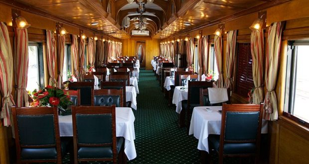 Vintage Rovos Rail Luxury Train