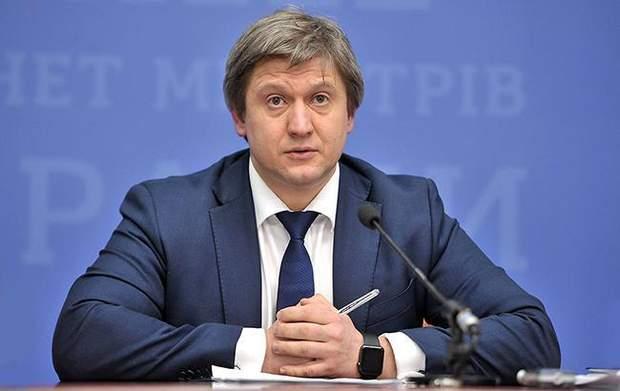 Данилюк, Зекоманда, міністр фінансів
