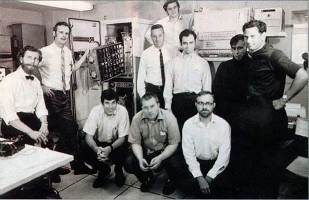 Команда, которая работала над ARPANET