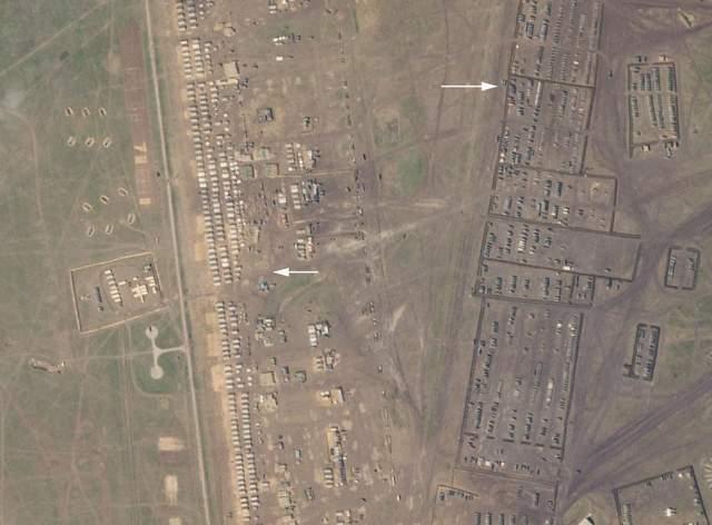 військовий табір росії в криму
