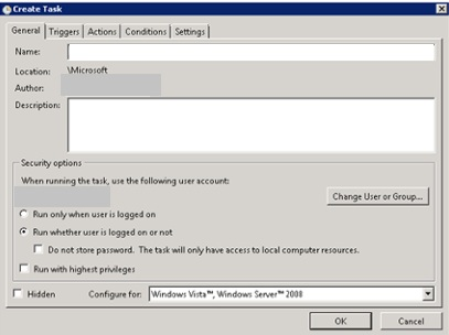 IT Snippits: Schedule Exchange 2013 PowerShell Script with