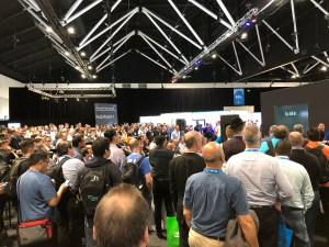 People at Microsoft Tech Summit