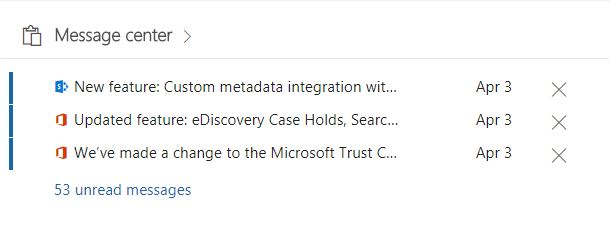 Microsoft 365 features and updates