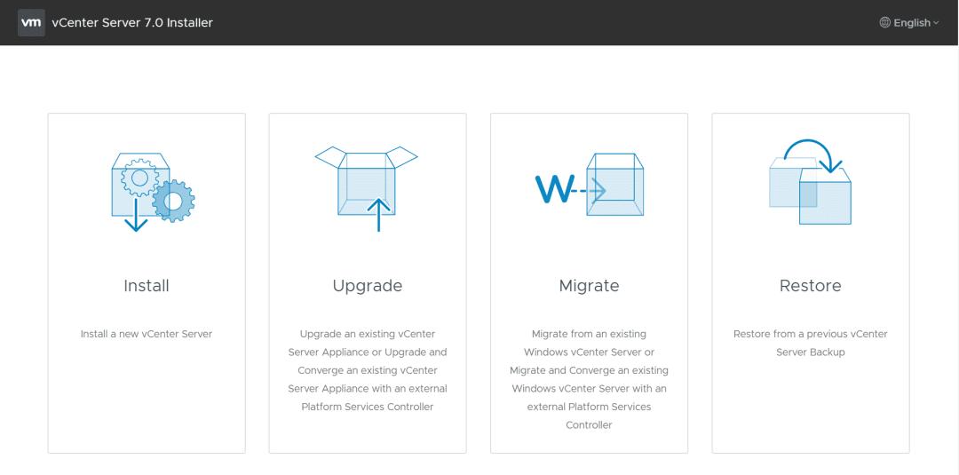 vcsa 7 installer upgrade vmware vcenter server