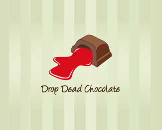 Drop Dead Chocolate 25 logos con mucho chocolate