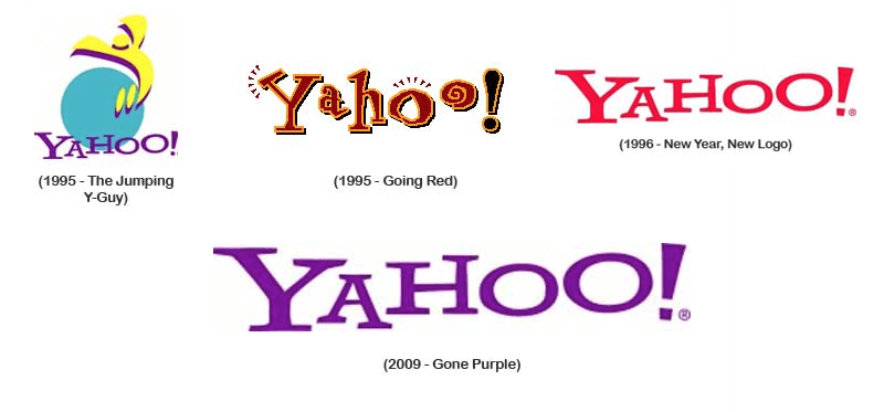 Yahoo Logos 30 days of change de Yahoo!, o 30 logos diferentes hasta mostrar el definitivo