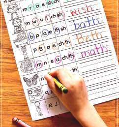 Digraph Phonics Worksheets \u0026 Activities for Elementary Students • What I  Have Learned Digraph pho [ 1620 x 1080 Pixel ]
