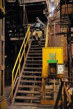 Treppauf, treppab: Die Anlagen sind zum Teil mehrere Stockwerke hoch und verwinkelt gebaut. Für Urbexer ergeben sich tausende interessante Entdeckungen und Blickwinkel.