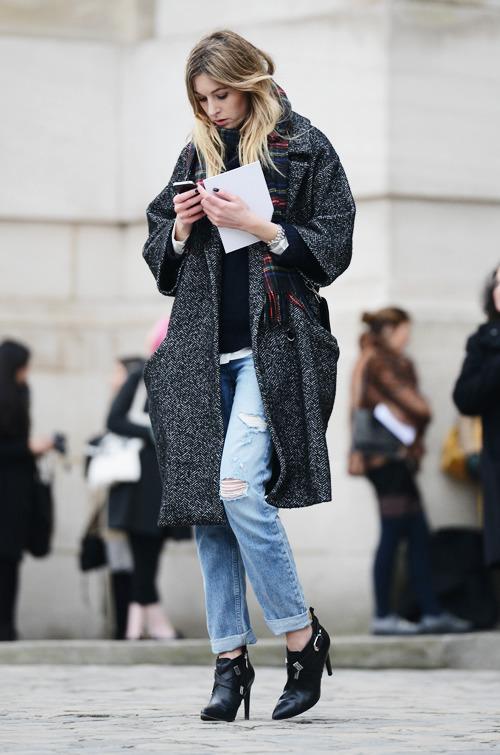 oversize coat, manteau oversize, gros manteau, manteau de fourrure
