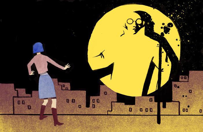 serena malyon illustration art swerve magazine crime does not pay calgary