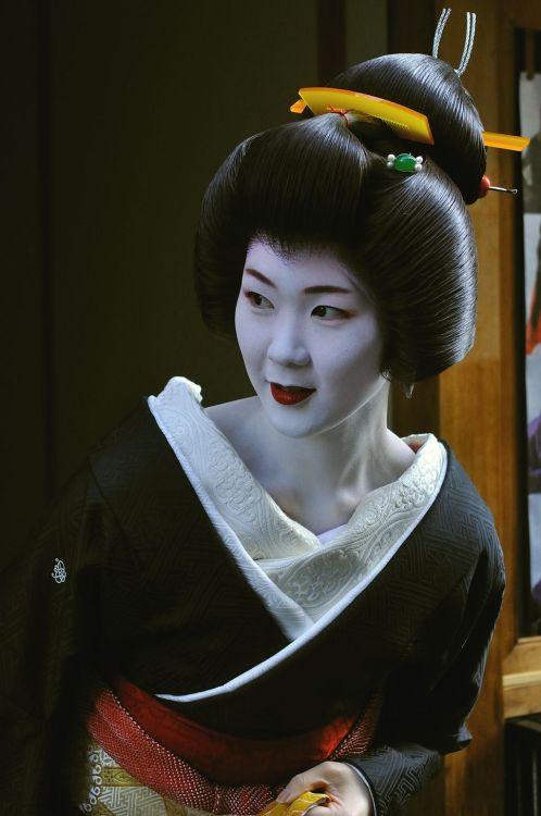 Geiko Ayano, Pontocho (viaワタシャジ ~ワタクシの社寺めぐり(とか)~ 祝・ブログ開設四周年)