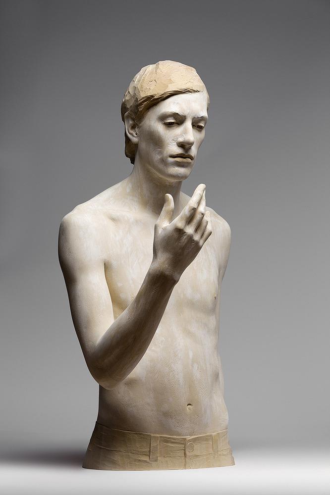 Wooden sculptures by Bruno Walpoth