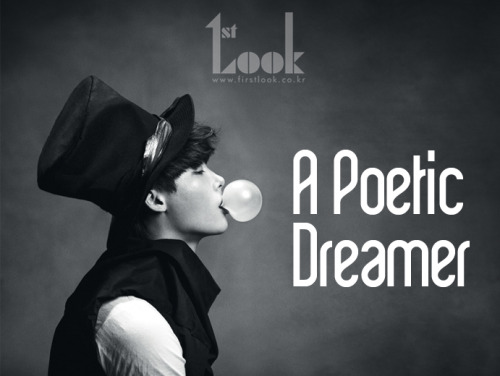 """Lee Jong Suk on 1st Look's, """"A Poetic Dreamer"""" Photoshoot: Interview"""