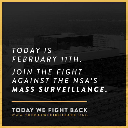 "demand-progress:The NSA ""is gathering nearly 5 billion records a day on the whereabouts of cellphones around the world."" (Washington Post)Join us in protesting the National Security Agency's wide-ranging invasion of privacy.Take action →"