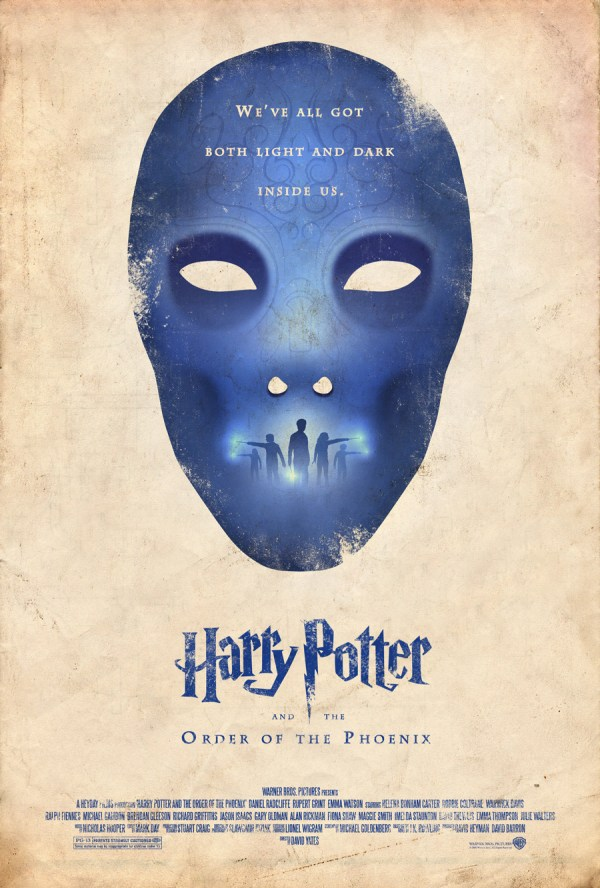 Alternative Harry Potter Order of the Phoenix Poster