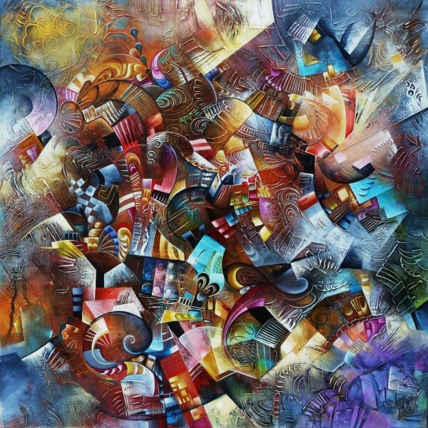 Geek Art Paintings Abstract