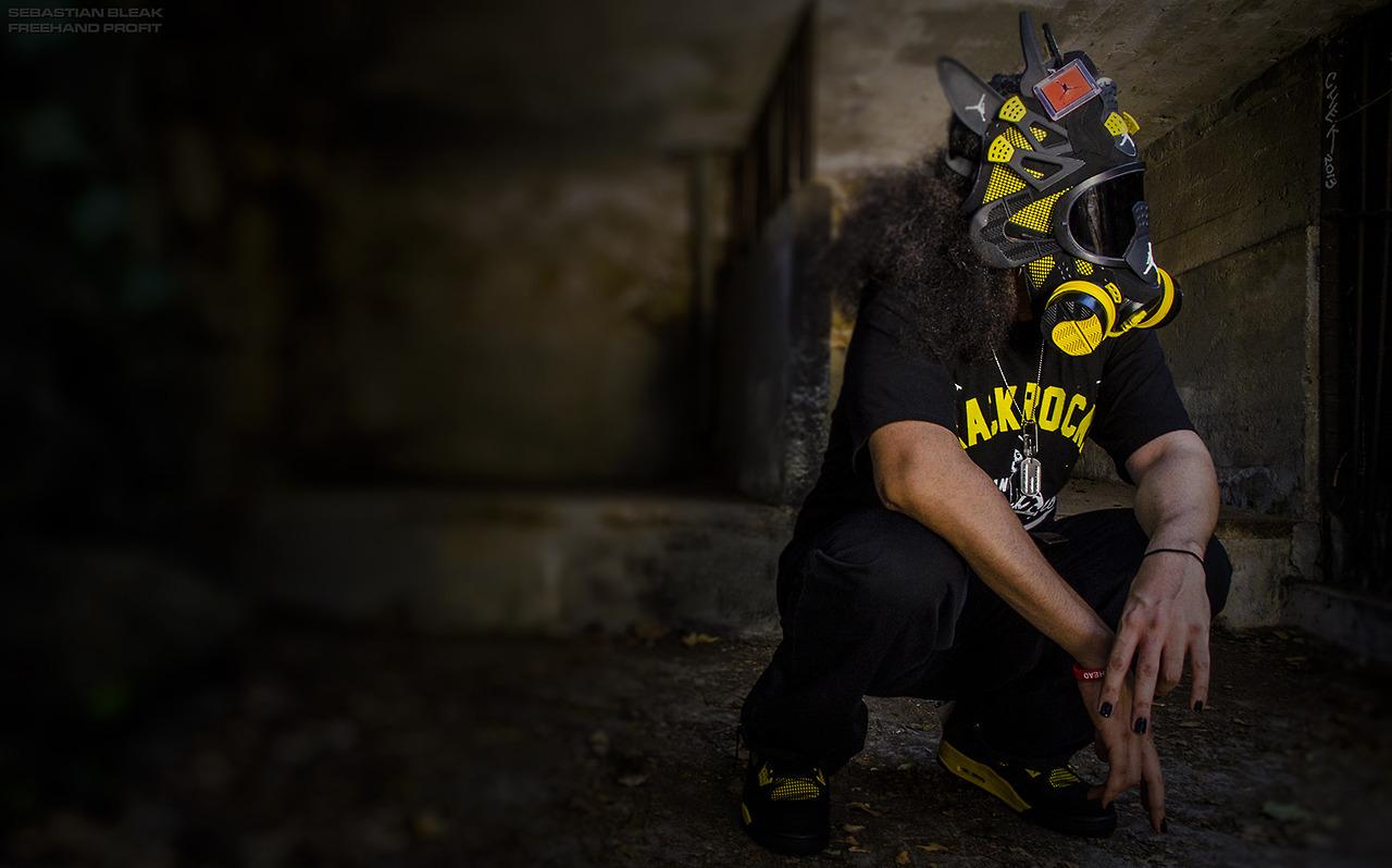 Freehand Profit Thunder 4 Gas Mask