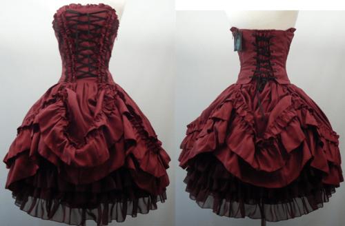 Red Fashion Dress Beautiful Style Awesome Wonderful Black