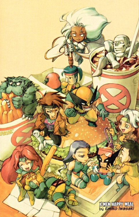xmen at mcdonalds