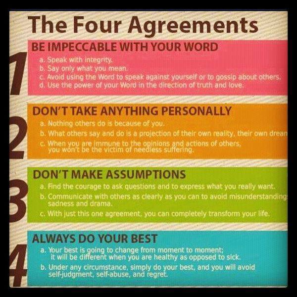 #Hurt #Quotes #Love #Relationship The Four Agreements Don Miguel Ruiz | The  Four Agreements By Don Miguel Ruiz. Saw U2026 | Motivational Saying U2026