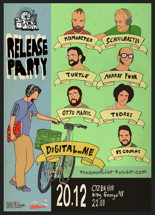 Bike Rider Release Party 20/12