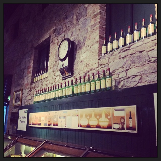 Jameson Experience whisly bottles