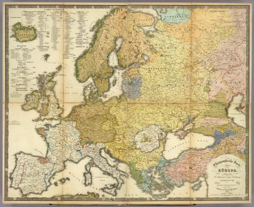 time-for-maps:Ethnographische Karte von Europa. Auf F.v. Stulpnagel's geogr. Feichnung Zusammengestellt von Potsdam Im Marz 1845; im Stich vollendet November 1846, von Madel II in Weimar. Gotha, bei Justus Perthes. 1847. [3175 × 2591]