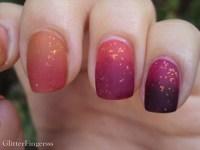 nails nail art matte ombre challenge flakies ombre nails ...