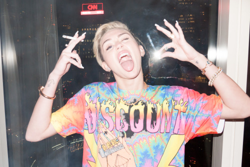 Miley Cyrus in NYC #3