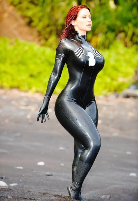 spider woman cosplay