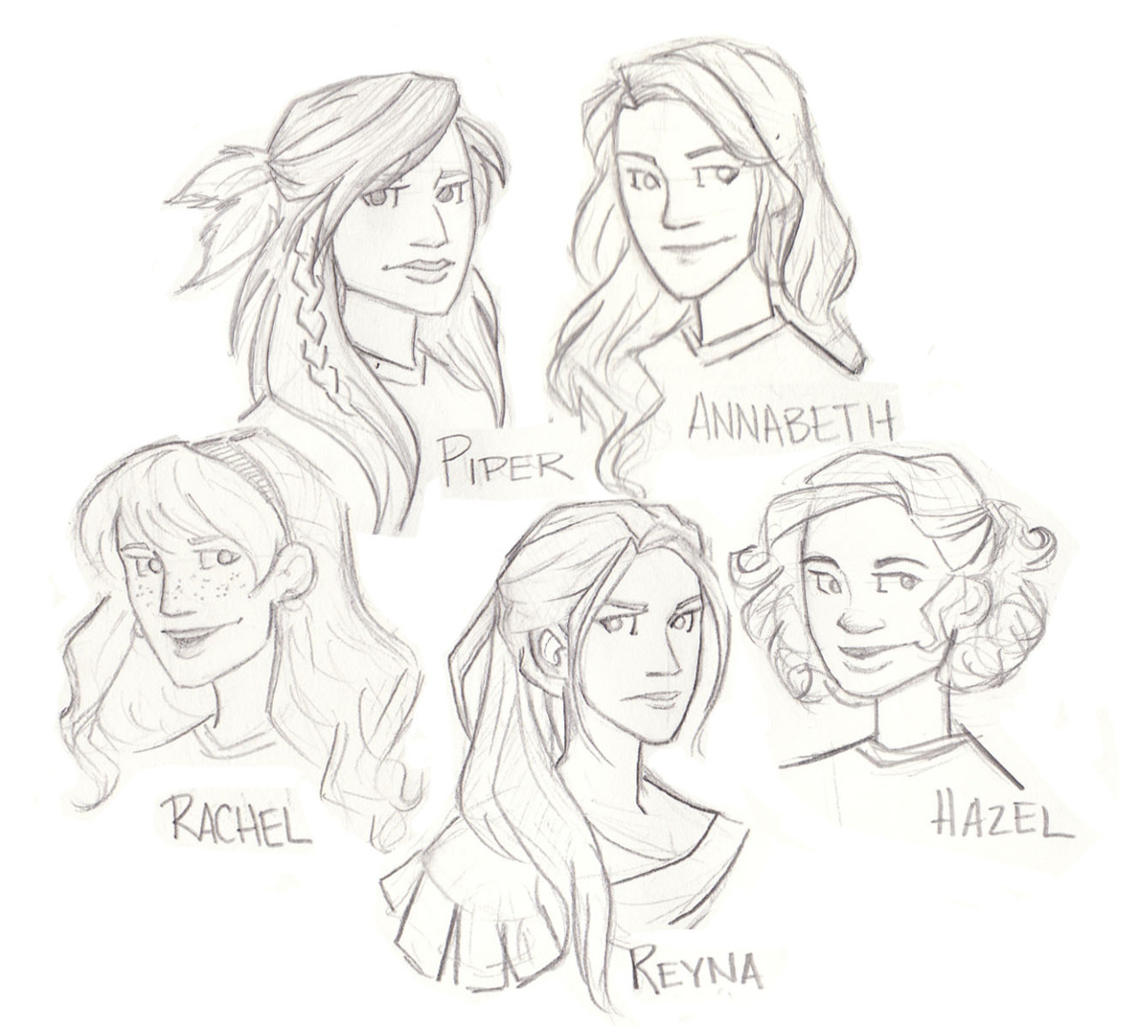 My art percy jackson Nico annabeth chase jason grace percy